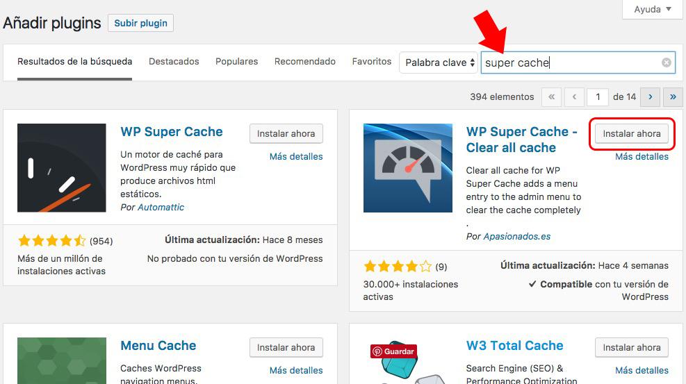 Cómo instalar un plugin de WordPress - Image 5 - www.ionastec.com